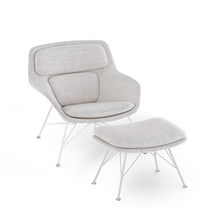 Striad Lounge Chair e Ottoman