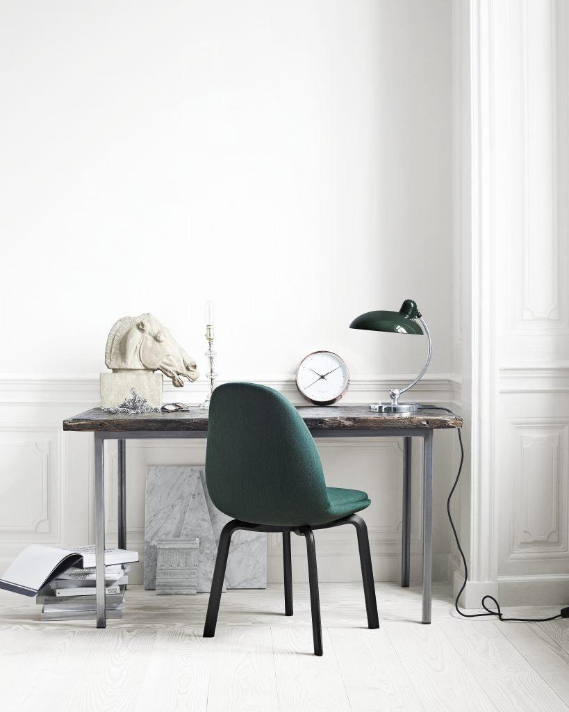 design escandinavo com cores claras e contraste