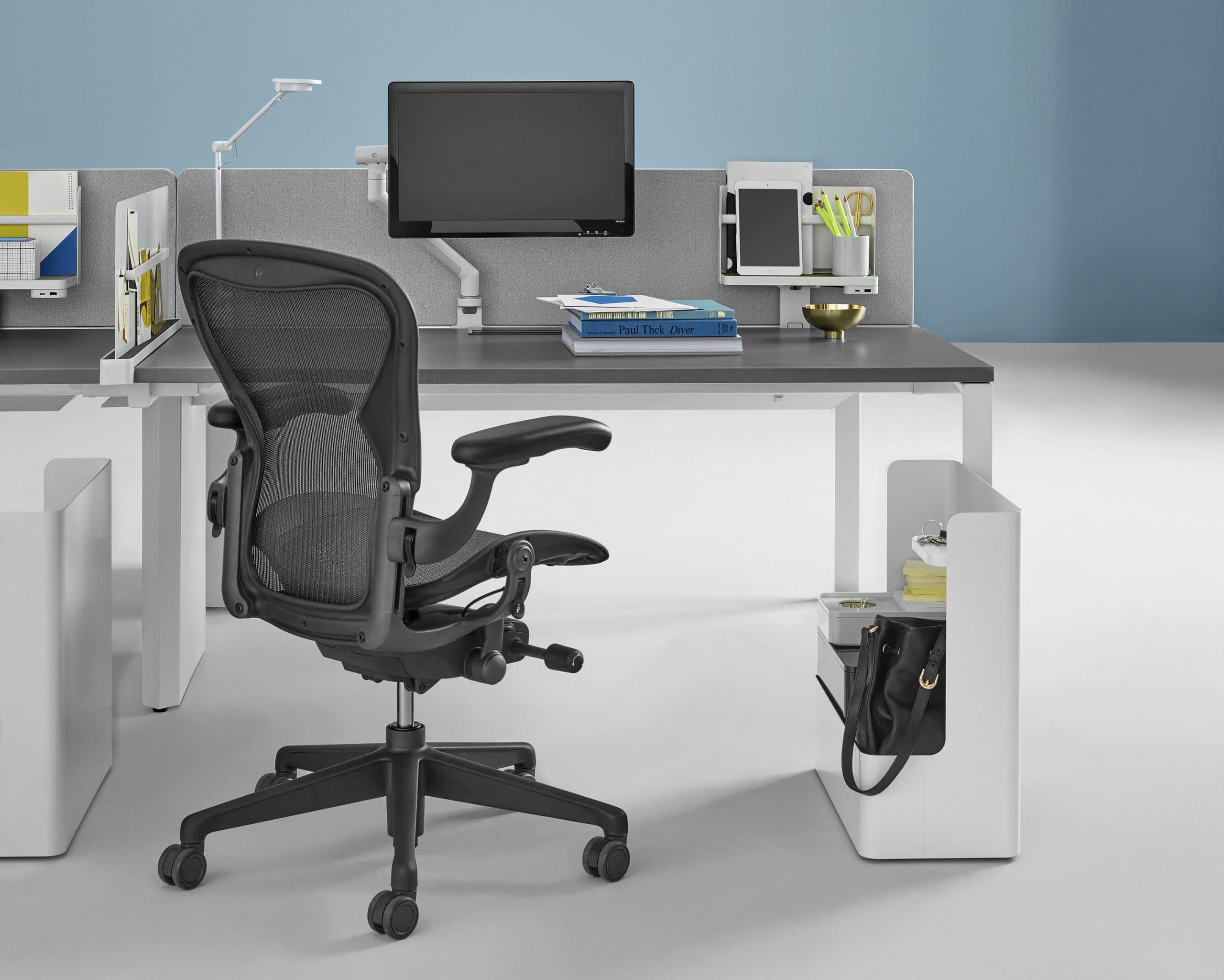 cadeira Aeron ergonomia no trabalho