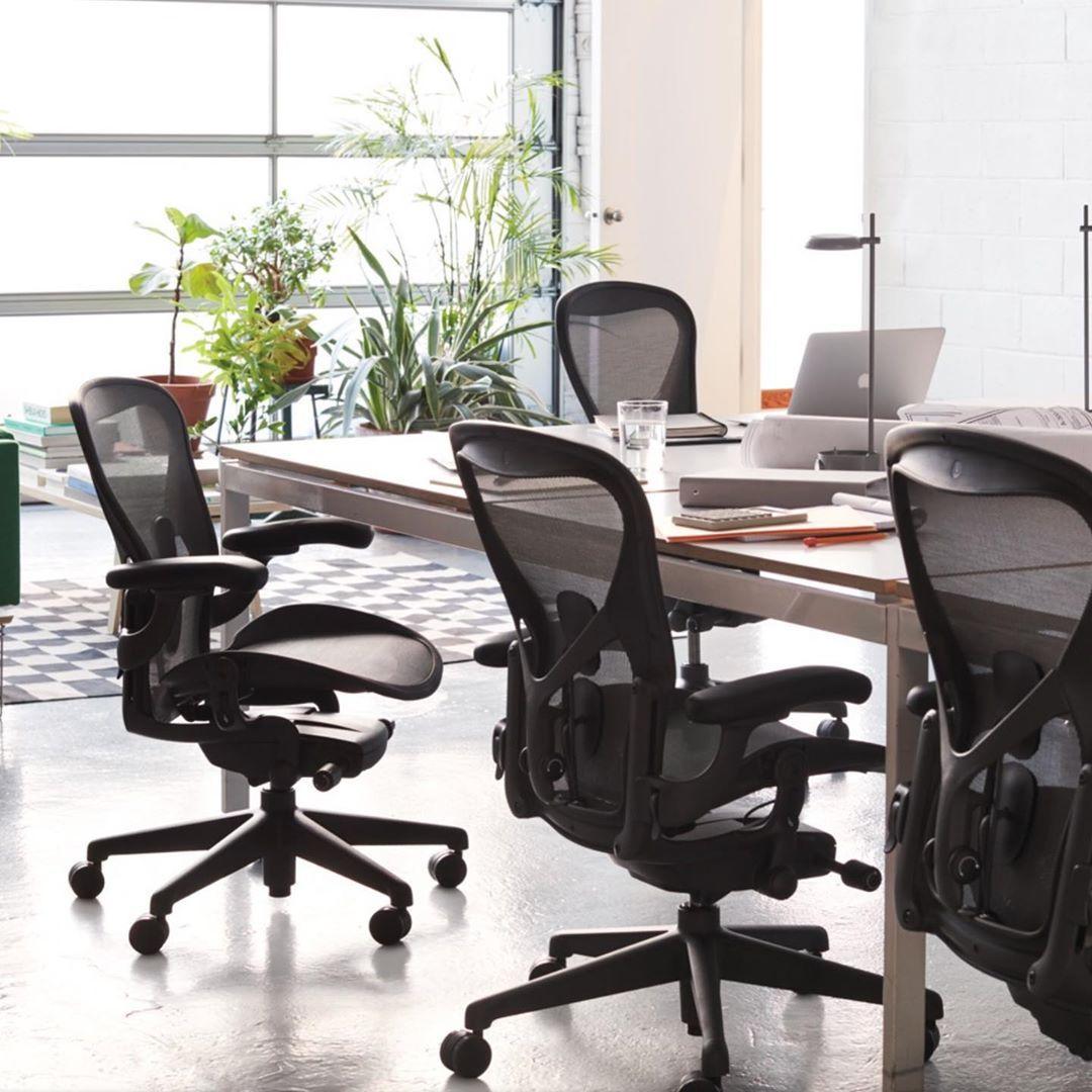 modelo de cadeira de escritório Aeron