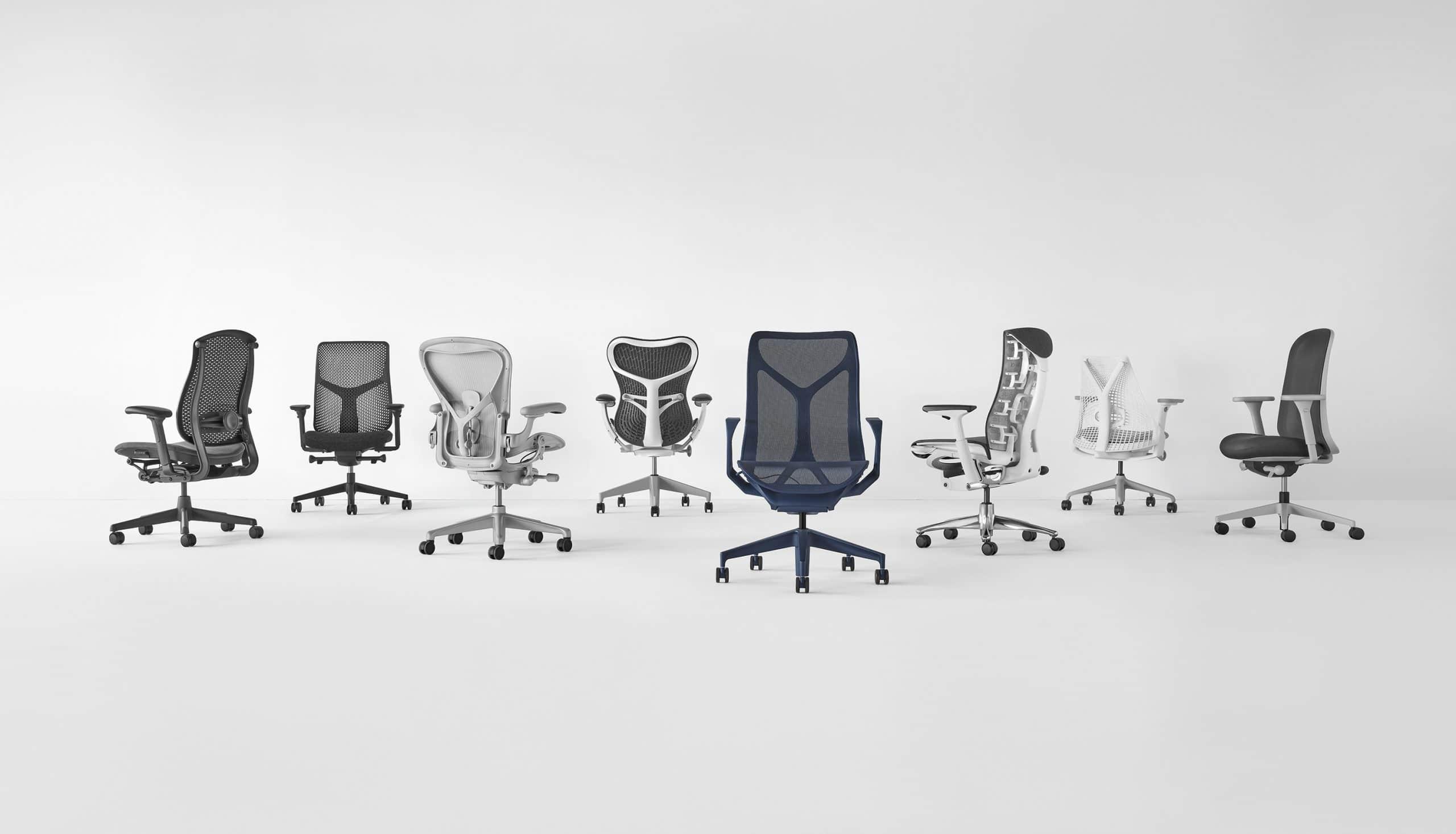 modelos de cadeira para escritório Herman Miller