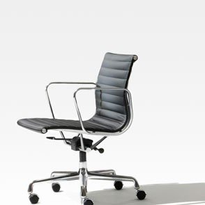 Eames Aluminum Group & Soft Pad Chairs