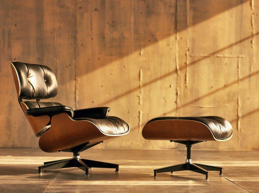 Charles Eames Poltrona Prezzo.Eames Lounge Herman Miller Atec Original Design