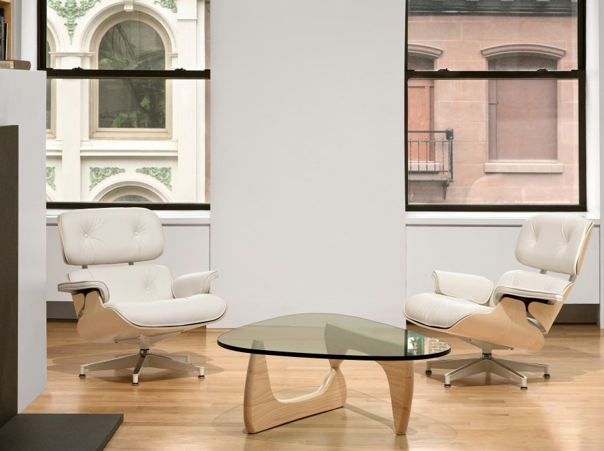Eames Lounge Herman Miller Atec Original Design