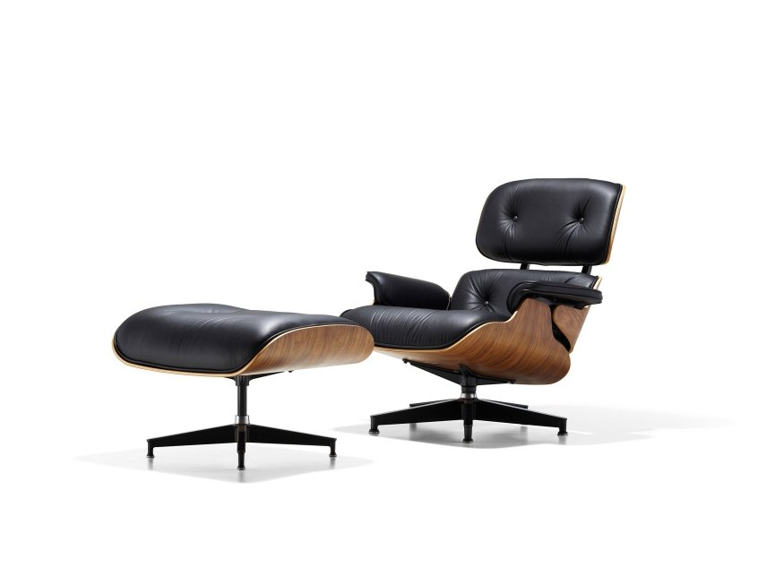 Charles Eames Poltrona.Eames Lounge Herman Miller Atec Original Design