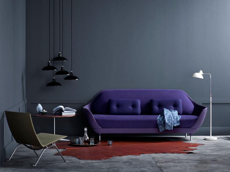 FAVN Sofa, Table Series, PK20 e Kaiser Idell Lamp