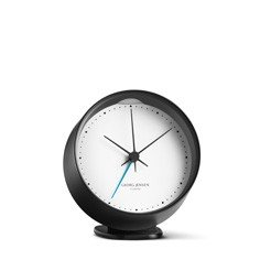 HK Clock Alarm, black/white