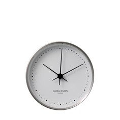 Koppel Wall Clock - Stainless Steel